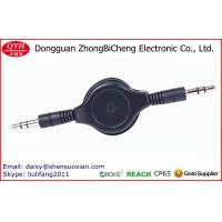 Wholesale Custom Retractable Audio Cable 3.5MM Male To Male Plug Jack from china suppliers