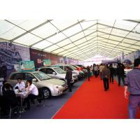 Wholesale Steel Frame Structure White Marquee Trade Show Tents Multifuctional Sun Proof from china suppliers