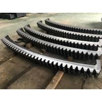 Wholesale AISI 4140(SAE 4140,42CrMo4,SCM440,1.7225)Forged Forging Steel mine Mining Shovel Twelve Segments Gear Rings Ring Gears from china suppliers