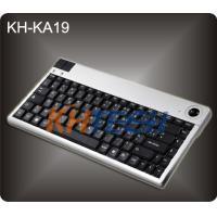 Wholesale Mini Desk Keyboard with integrated Trackball from china suppliers