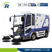 Quality wet industrial floor sweeper, closed cab for sale