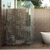 Wholesale Etched Glass, Shower Enclosures, Frosted Pattern from china suppliers