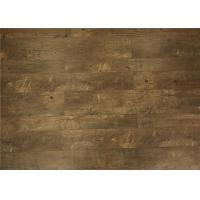 Wholesale Indoor Handscraped Laminate Flooring , Square Edge Home Oak Wood Floor Boards from china suppliers
