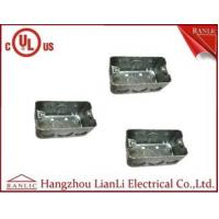 Wholesale UL Approvals Metal Conduit Boxes Galvanised Handy Box 2 inch * 4 Inch from china suppliers