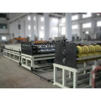 Wholesale Double Screw Plastic Roofing Tiles Extrusion Line For PC Transparent Corrugated Sheet from china suppliers