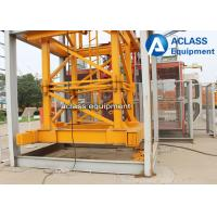Wholesale 60m Jib Internal Climbing Tower Crane 8 Ton QTZ6010 for Building Construction from china suppliers