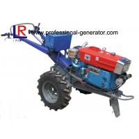 Wholesale Mini 18HP Hand Walking Agricultural Tractor , Condensing Cooled Diesel Agriculture Machine from china suppliers