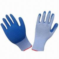 Wholesale Latex Gloves, Heavy Duty Working, Various Colors are Available  from china suppliers