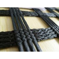 Wholesale High Strength PVC Coated Asphalt Reinforcement Geogrid For Road Construction from china suppliers