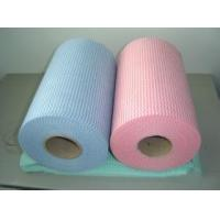Wholesale House , Hospital , Agriculture Spunlace Nonwoven Fabric Roll 50% Viscose 50% Polyester 60gsm from china suppliers