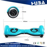 CE ROHS FCC dropshipping electric hoverboard double wheels handsfree self balancing scooter