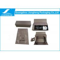 Wholesale Custom Printed Cardboard Wine Packing Boxes / Packaging Box With Handle from china suppliers