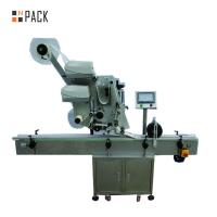Wholesale Automatic Sticker Plane Labeling Machine Pneumatic Flat Bottle Label Applicator from china suppliers