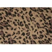 Wholesale 100% Polyester Stretch Fabric Leopard Print Fabric For Interlining / Lingerie from china suppliers