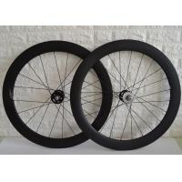 Wholesale Novatec Hub Single Speed Wheelset , Tubular Track Wheelset 100mm Front Hub Spacing from china suppliers