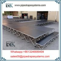 Wholesale evnet wedding folding smart stage glass stage design easy install for sale from china suppliers