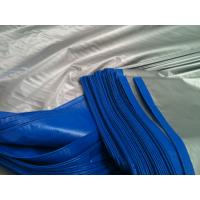 Wholesale 14*14mesh 200gsm blue/silver  tarpaulin roof covering plastic from china suppliers