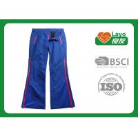 Wholesale Blue Color Ladies Hunting Pants , Soft Hunting Waterproof Trousers from china suppliers