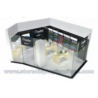Wholesale Coodoo Digital Shop Fashion Open Design by Transparent glass wall inside wood counters and display cabinets from china suppliers