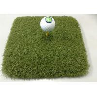 Wholesale Nylon Curly Monofilament Artificial Grass , Golf Synthetic Putting Greens from china suppliers