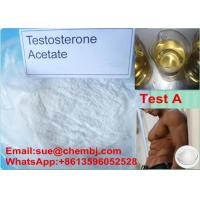 Wholesale Steroid Hormone Powder Testosterone Acetate / Test A CAS 1045-69-8 for Bodybuilding from china suppliers