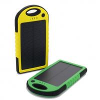 Wholesale 2015 5000mAh Mobile Solar Power Bank/Battery Power Supply from china suppliers