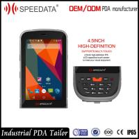Wholesale 4G LTE Handheld PDA Devices , Portable Data Collection Terminal with NFC Reader from china suppliers