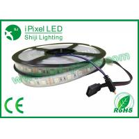 Wholesale Weatherproof Programmable RGB LED Strip Chasing Color DMX Compatiable 14.4watt / m from china suppliers