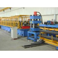 Wholesale Highway Guardrail Roll Forming Machine , Hydraulic Metal Roof Tile Machine from china suppliers