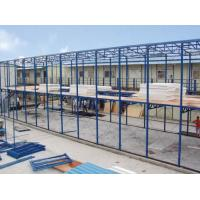 Wholesale Movable Modern Prefab Steel Houses , Pre Engineering Steel Structure Fabrication from china suppliers