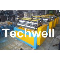 Wholesale 11KW Motor Power / PLC Control Three Roller Bending Machine To Curve Corrugated Sheets from china suppliers
