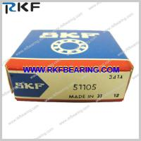 Wholesale 25mm x 42mm x 11mm / Metric SKF 51105 Single Direction Thrust Ball Bearings from china suppliers