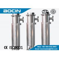 Wholesale Single bag stainless steel filter housing / liquid bag filter 1 - 100microns from china suppliers