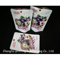 Wholesale Plastic Snack Food Packaging Bags With Zipper 15.5 * 10.5 + 3.5cm Air Proof from china suppliers