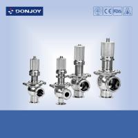 Wholesale Sanitary pressure safety valve 180 degree temperature , air release valve from china suppliers