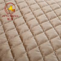 Wholesale 2018 new design embroidery quilted knitted velvet fabric for home textile from china suppliers