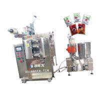 Wholesale Multiple Materials Sauce Filling Equipment With PLC Controller , Bright Color from china suppliers