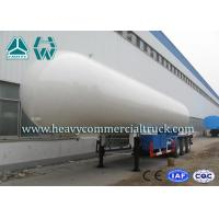 Wholesale Longlife Pressure Vessel LPG Semi Trailer Reliable Structure Anti - Corrosion Coating from china suppliers