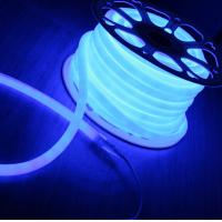 Wholesale blue color mini round neon flex 360 degree emitting 12V SMD2835 rope light from china suppliers