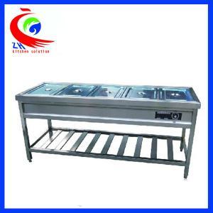 Wholesale Restaurant Kitchen Buffet Restaurant Equipment Shop Warmer Showcase from china suppliers