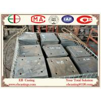 Wholesale ZG60Cr5Mo Martensite Cr-Mo Alloy Steel Plates HRC50 Material Handling for Cement Industry EB14020 from china suppliers