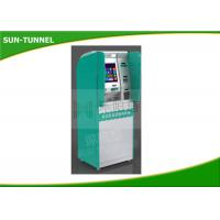 Wholesale 17 Inch Customized Self Service Banking Kiosk With Card Dispenser / Cash Dispenser from china suppliers
