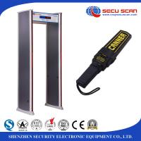 Wholesale Sound / LED Lights Alarm Walk Through Metal Detector For Station Security Check from china suppliers