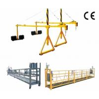 Wholesale 800 Rated Load Rope Steel Suspended Window Cleaning Platform with Dipping Zinc from china suppliers