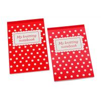 Wholesale White circle with red background soft paper cover A4, A4+, A5, A5+ Personalised Notepad from china suppliers