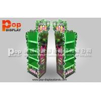 Wholesale 4 Tiers flower shape KT board 350 Gram CCNB Corrugated Floor Stand / POS from china suppliers