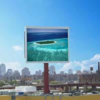Wholesale P12 Outdoor RGB Led Billboard Display Waterproof IP65 , Electronic Billboard Signs from china suppliers