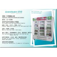 Wholesale Superstore Glass Door Chiller / Cooler / Refrigerator / Freezer Showcase from china suppliers