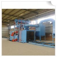 Wholesale Steel structure H beam shot blasting machine / Roller Conveyor Sand Blasting Machine from china suppliers