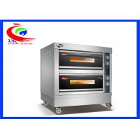 Wholesale Kitchen bakery equipment commercial electric bread oven pizza oven with big capacity from china suppliers